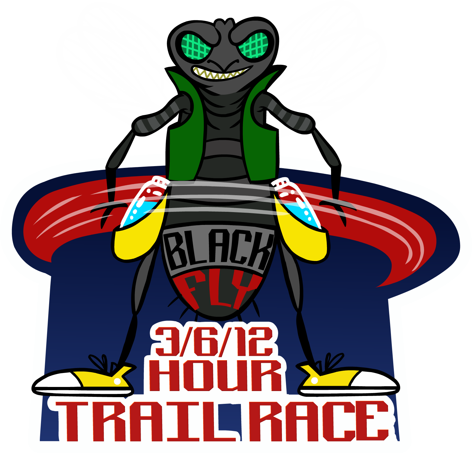 Black fly 3 6 12 24 hour trail race 3beavers racing